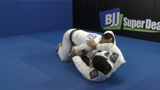Invisible Arm Bar From Over Under Defense