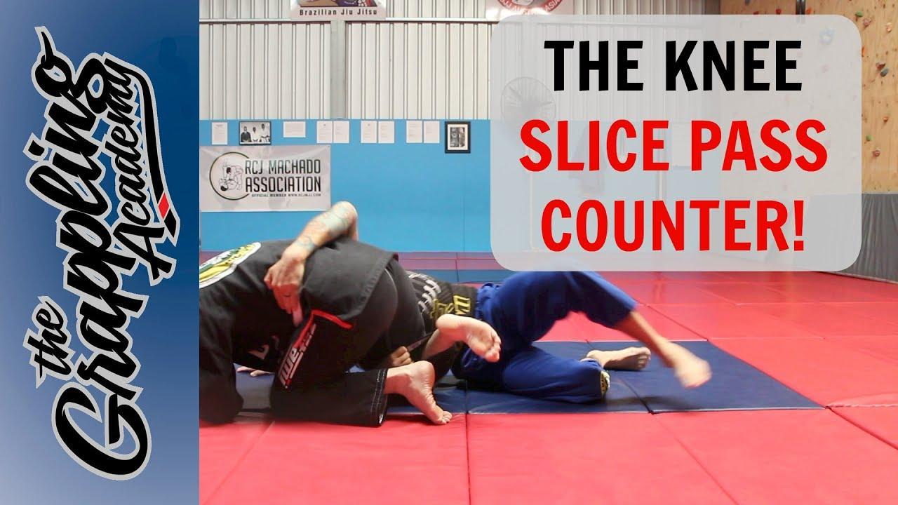 Knee Slice Pass Counter –  Tom Davey