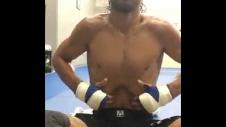 Kron Gracie Yoga Breathing Exercise Crazy Core!