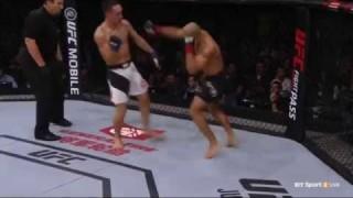 Max Holloway Stockton Slaps Jose Aldo