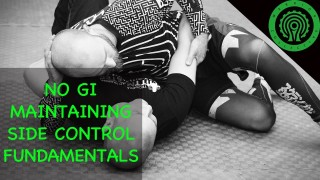 No Gi BJJ Riding and Maintaining Top Side Control Drills – James Evans-Nicolle