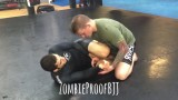 Oliver Taza Showing An ArmDrag From Knee Shield