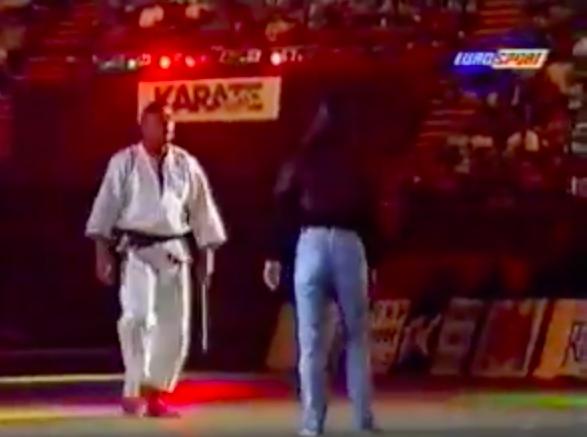 Rickson Gracie & His Ex-Wife Do Jiu-Jitsu Demonstration