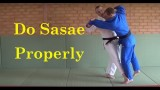 Sasae tsuri komi ashi – How to do it properly
