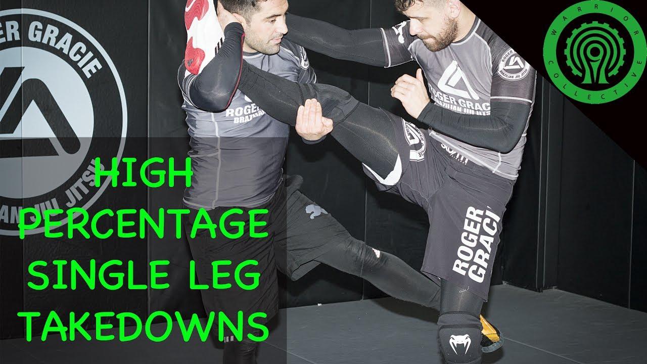 Wrestling High Percentage Single Leg Takedowns – Lyubo Kumbarov, Wrestling coach at Roger Gracie Academy HQ