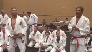Rickson Gracie Promoted To Red Belt