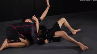 Guillotine choke variation from turtle position – Evolve