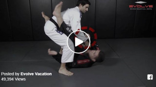 How To Do A Leg Lock From Open Guard – Evolve