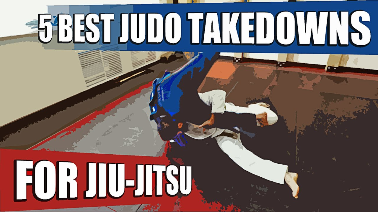 5 Best Judo Takedowns for BJJ