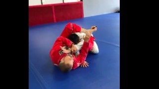 Double Arm Bar From Leg Arm Drag Guard- Carlos Machado