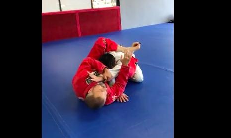 Double Arm Bar From Leg Arm Drag Guard- Carlos Machado