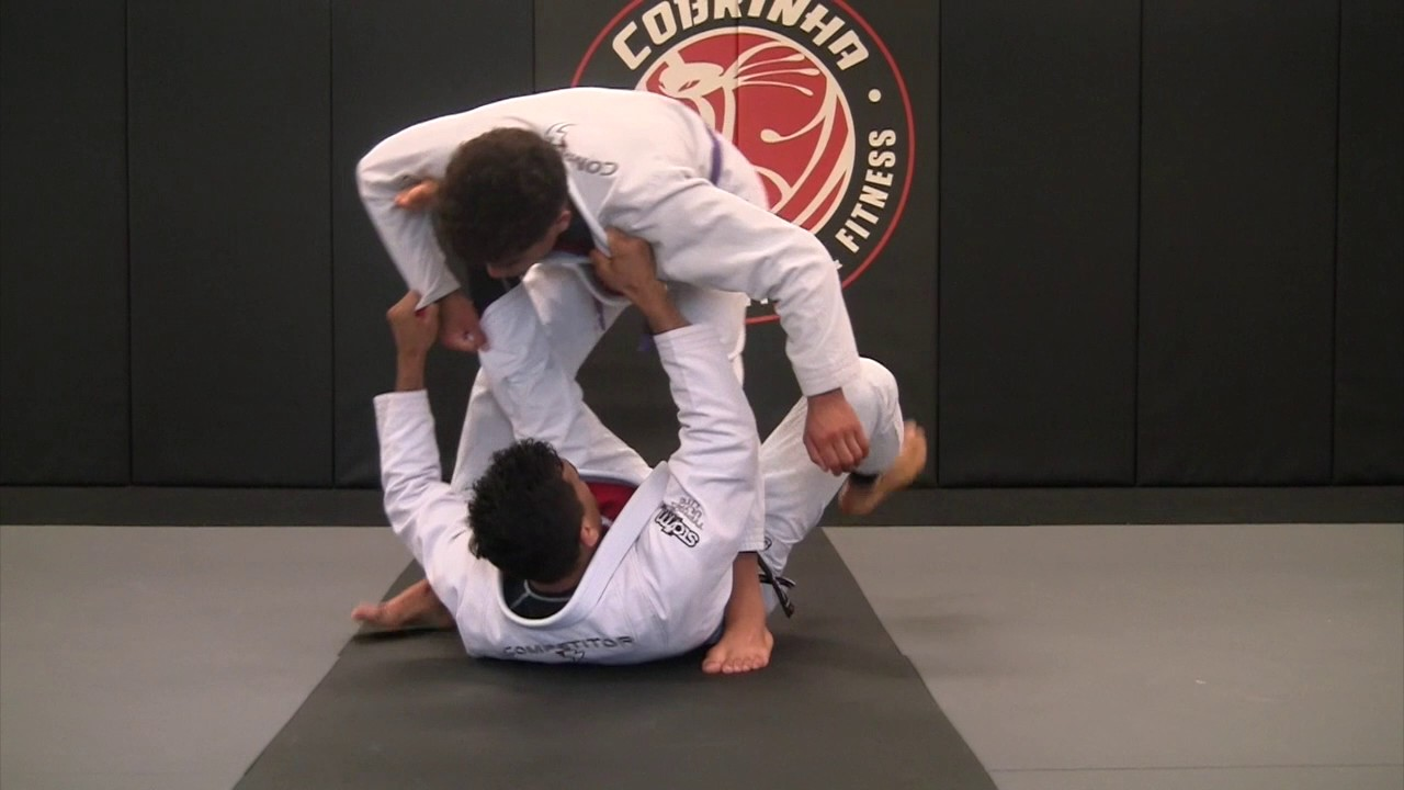 Modified Single Leg X Sweep to Side Control – Cobrinha