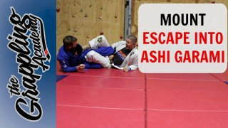 Mount Escapes To Ashi Garami – Tom Davey