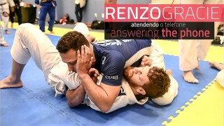 Renzo Gracie teaches how to answer the phone