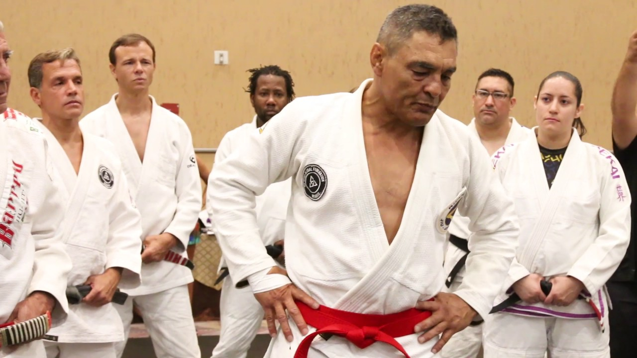 Rickson Gracie Red Belt Ceremony With Interviews