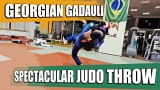 Spectacular Judo Throw – Georgian Gadauli