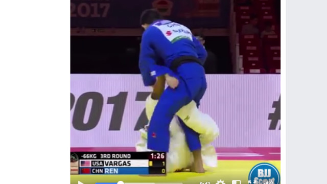 Ryan Vargas put on a display of Sweeps and Guard Pulls at the 2017 World Judo Championships!
