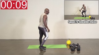 6 Minute Hybrid Follow Along Workout – Funk Roberts