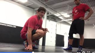 Sneaky ankle pick – Ben Askren