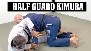 A Sneaky Kimura Attack from Half Guard