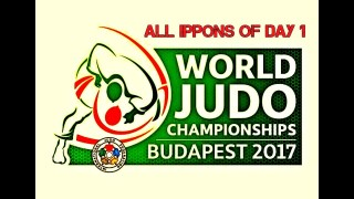 Best Of World Judo Championships Budapest 2017 Day 1