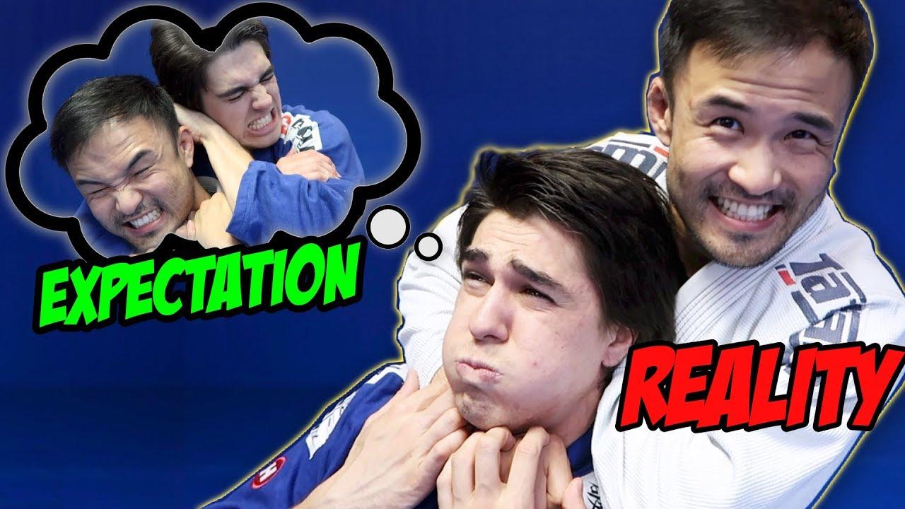 Brazilian Jiu Jitsu: Expectations VS Reality