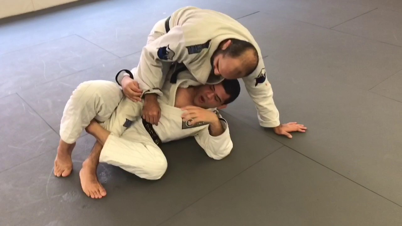 "Deep Half Guard Sweep Controlling The Sleeve – Felipe ""Pe de Pao"" Bueno"