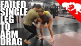Failed Single Leg To Arm Drag –  Kyle Cerminara