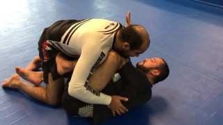 Half Guard Frame – How To Prevent The Guard Pass by Tom Deblass