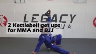 Kettlebell Turkish Get Ups For BJJ
