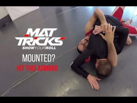 Kimura When You're Mounted – No Gi BJJ Technique