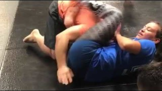 Miesha Tate's Guillotine From Crucifix