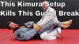 Powerful Kimura Setup for White Belts to Stop Basic Guard Break