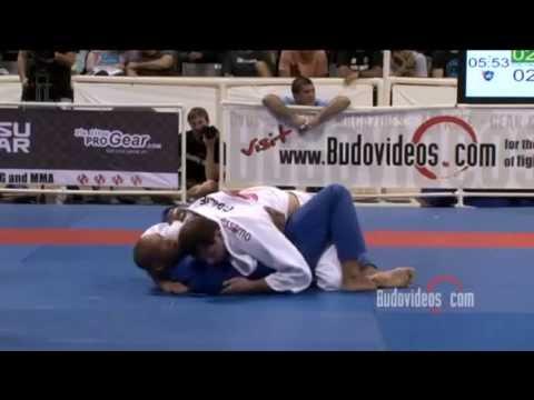 Roger Gracie Half-Guard Sweep on Bruno Bastos
