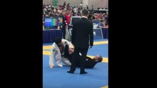 Roli Delgado Leg Lock Highlight at World Masters