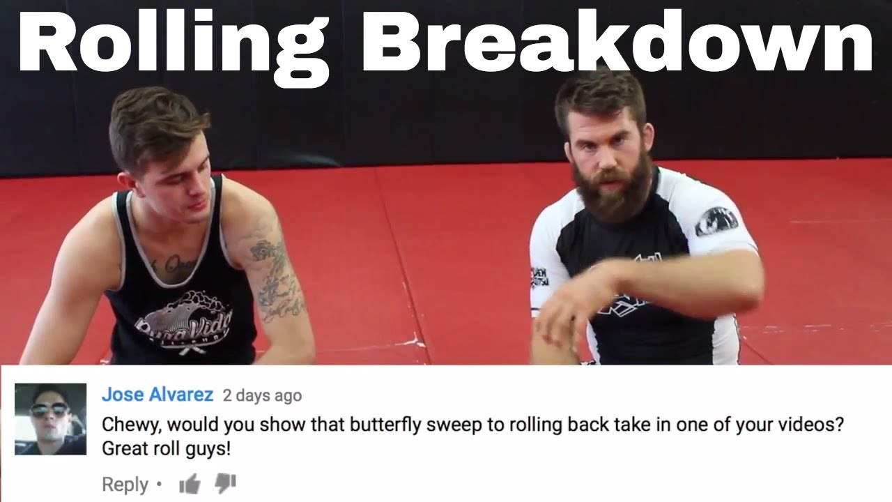 Smooth Butterfly Sweep to Rolling Back Combo – Nick Albin