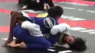 14 Yr Old Green Belt Defeats Legit BJJ Black Belt
