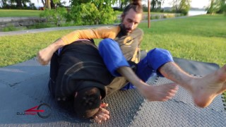 Wrist Lock from Arm Bar Defense (guard) – Bjj AfterForty