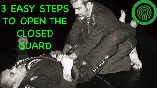 3 easy steps to open the closed guard – Alain Pozo