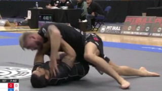Gordon Ryans Black Magic back take From Romulo Match