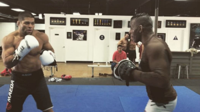 Andre Galvao Looks Ripped As He Works On his Striking – Gearing For an MMA return?