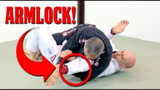 An Easy and Surprising Armlock From Half Guard Top- Stephan Kesting