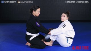 Arm Drag Back Take – Mackenzie Dern