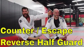 Back Take Counter to a Frustrating Half Guard Position in BJJ – Nick Albin