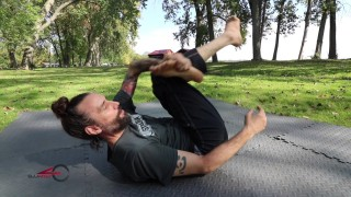 Developing Flexibility for Triangle Chokes- Mike Bidwell