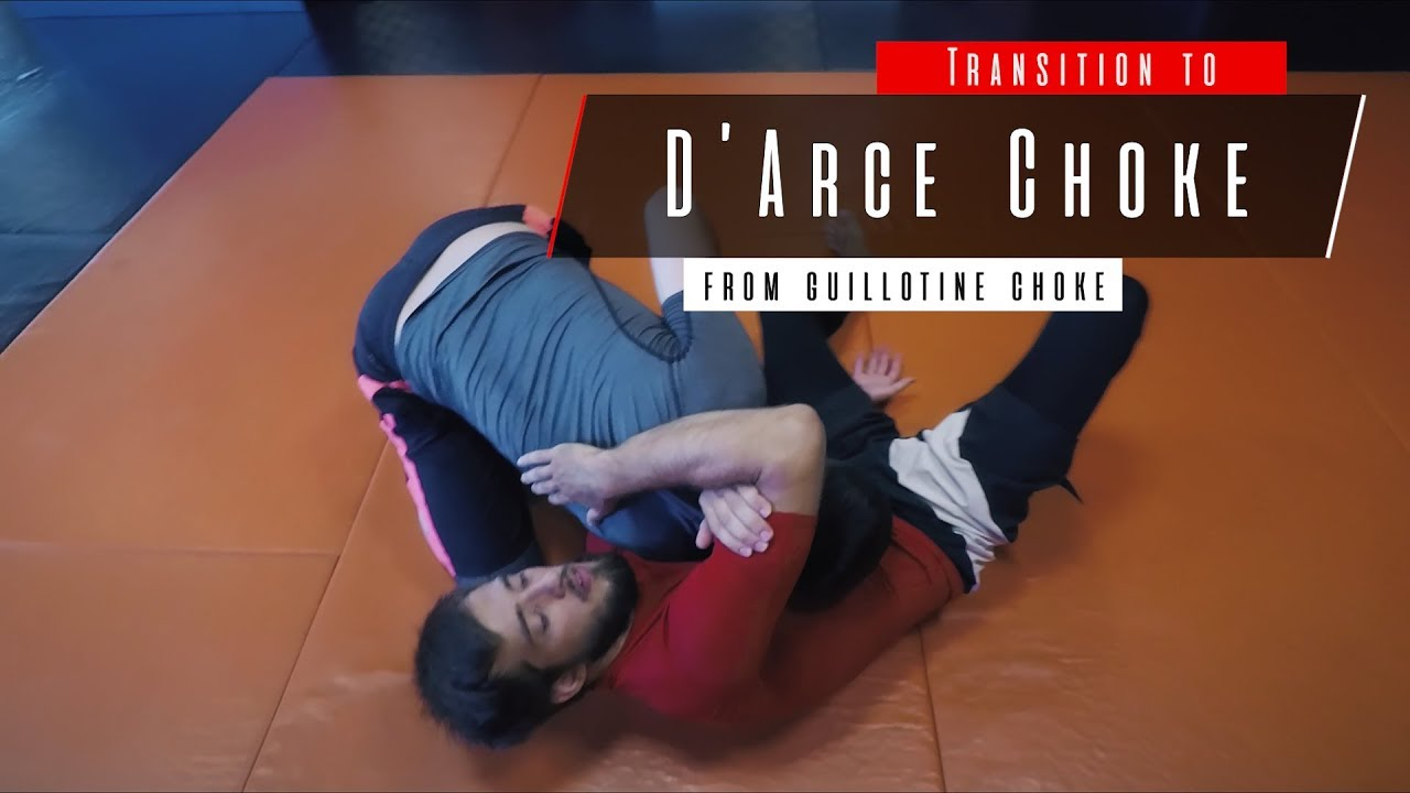Guillotine to D'Arce Choke from Butterfly Guard – Shamsudin Magomedov