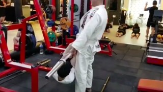 Weird Korean BJJ Strength & Conditioning Workout