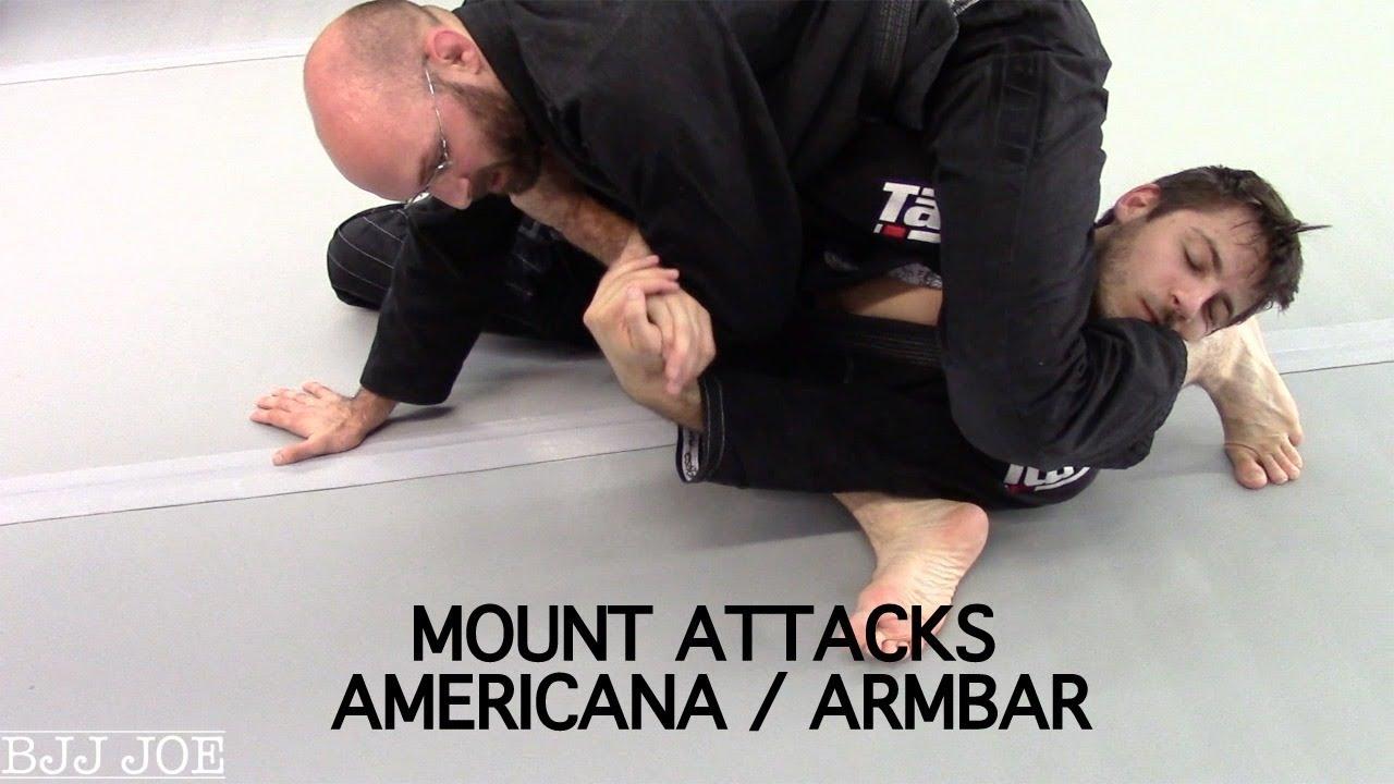 Mount Attacks: Americana / Armbar – Franjo Artukovic