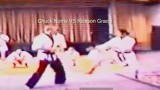 Chuck Norris Spars with Rickson Gracie in 1988