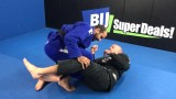 Sweep While Getting Smashed In Half-Guard By Josh Roth